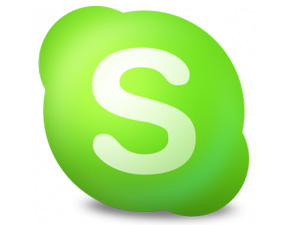 Por Skype...
