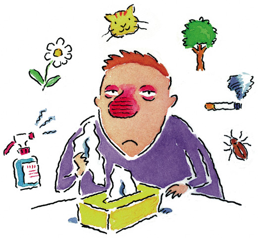 Allergy Guy --- Image by © Images.com/Corbis